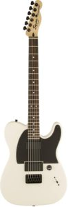 Fender Squier 301020580 Jim Root Signature Telecaster 6-string electric guitar, right hand, white