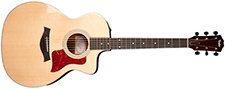 Taylor 214ce Acoustic Guitar Nature