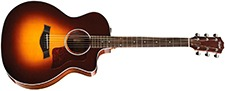 Taylor 214ce Deluxe Grand Auditorium wElectronics - Sunrise