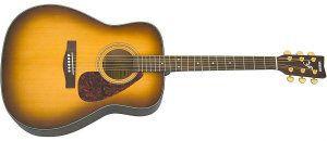Yamaha F335 Acoustic Guitar Tobacco Brown Solar Wind