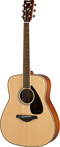 Yamaha FG820 Solid State Acoustic Guitar Table, Natural